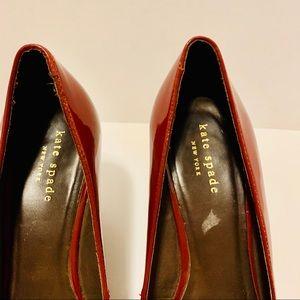 kate spade Shoes - Kate Spade Garnet Wedge Shoes Size 8